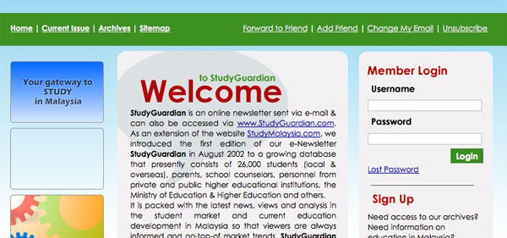 StudyGuardian e-Newsletter