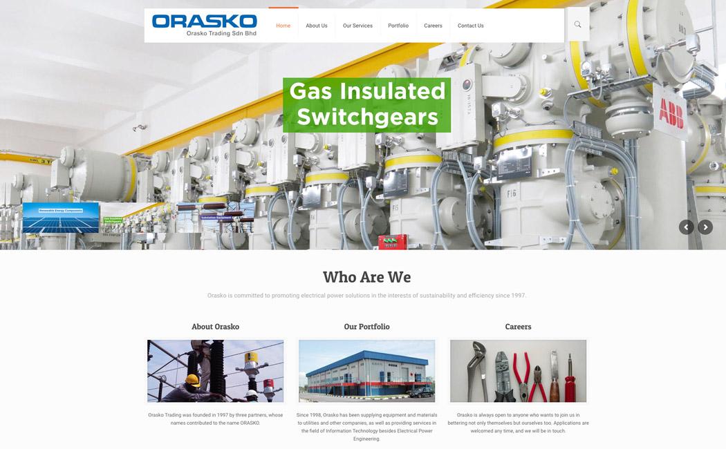 Orasko Trading Sdn Bhd - Webway e Services